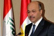 رئیس جمهوری عراق وارد دوحه شد