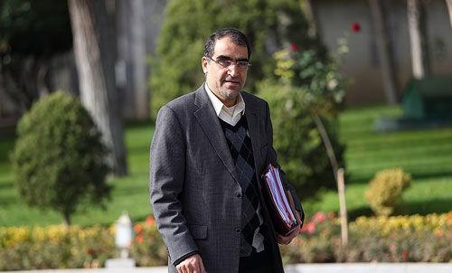 وزیر بهداشت از جشنواره شهر خدا بازدید کرد