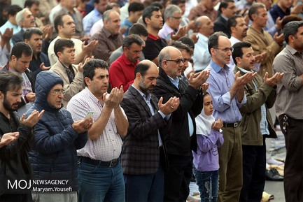 برگزاری نماز عید سعید فطر ۱۳۹۷ در تبریز