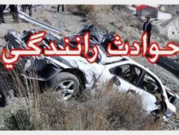 7 مصدوم در تصادف سواری پراید با وانت در بهارستان اصفهان
