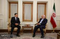 دیدار رئیس موسسه استراتژیک ازبکستان با ظریف