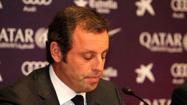 رئیس پیشین بارسلونا دستگیر شد