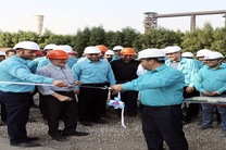 واحد تولید اکسیژن شرکت فولاد کاوه جنوب کیش به بهره برداری رسید