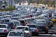 ترافیک سنگین در ورودی های پایتخت
