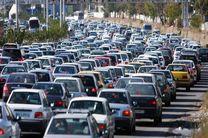 آخرین وضعیت ترافیکی محورهای مواصلاتی منتهی به تهران