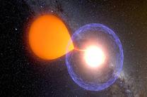 ثبت لحظه قبل و بعد از انفجار یک ستاره