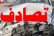تصادف مرگبار پراید با کامیون در جاده خور و بیابانک