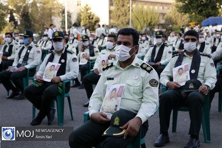 تشییع پیکر شهید حامد ضابط