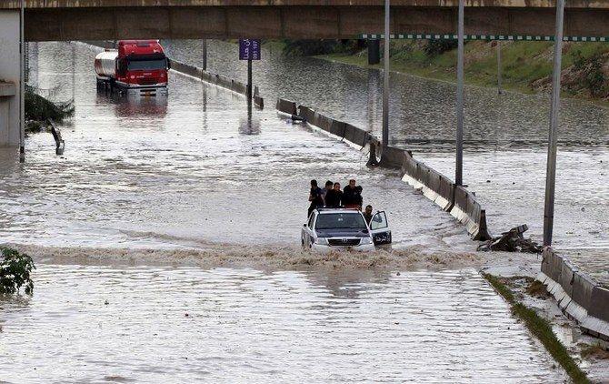 سیل در لیبی موجب مرگ 4 نفر و آواره شدن 2500 نفر شده است
