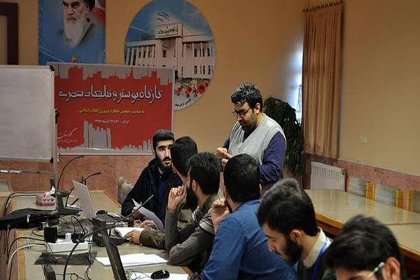 هفتمین کارگاه آموزشی جشنواره هنر مقاومت در شهر گرگان برگزار شد