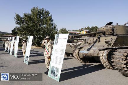 کلنگ زنی احداث نمایشگاه چند منظوره دفاع مقدس در نزاجا