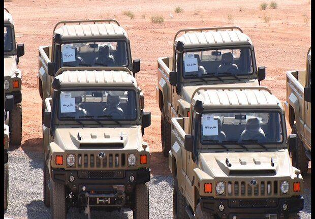خودروهای تاکتیکی ارس۲ تحویل نیروهای مسلح شد