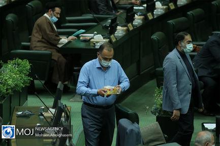 صحن علنی مجلس شورای اسلامی با حضور وزیر جهاد کشاورزی