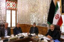 دیدار رئیس و اعضای هیأت رئیسه فدراسیون فوتبال با لاریجانی