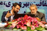 بازدید لاریجانی از مرکز تبادل اطلاعات و مانیتورینگ وزارت ارتباطات