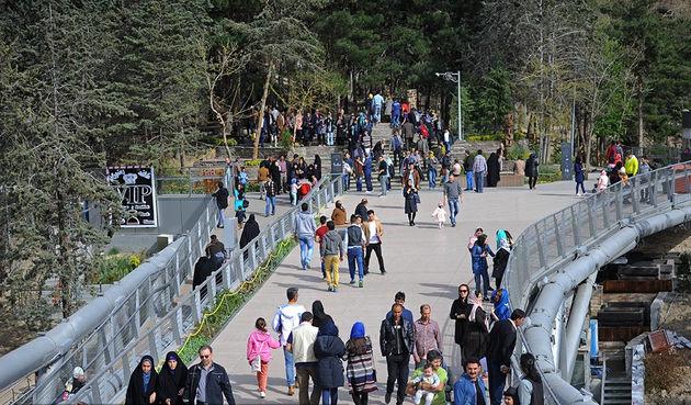 اراضی عباسآباد مقصد نخست گردشگران تهران در نوروز ۹۷