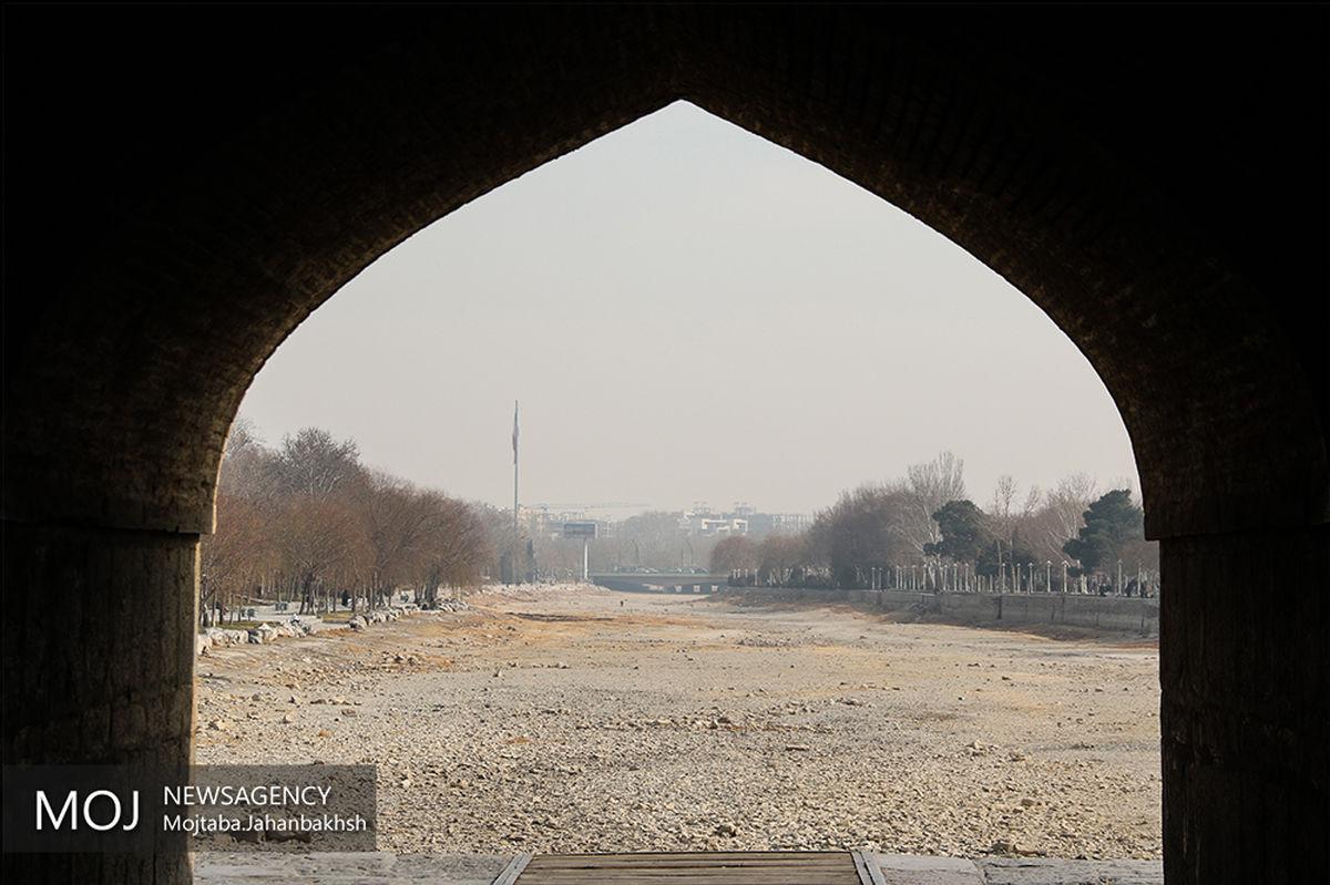 هوای اصفهان برای عموم  درشرایط ناسالم است / شاخص کیفیت هوا 161