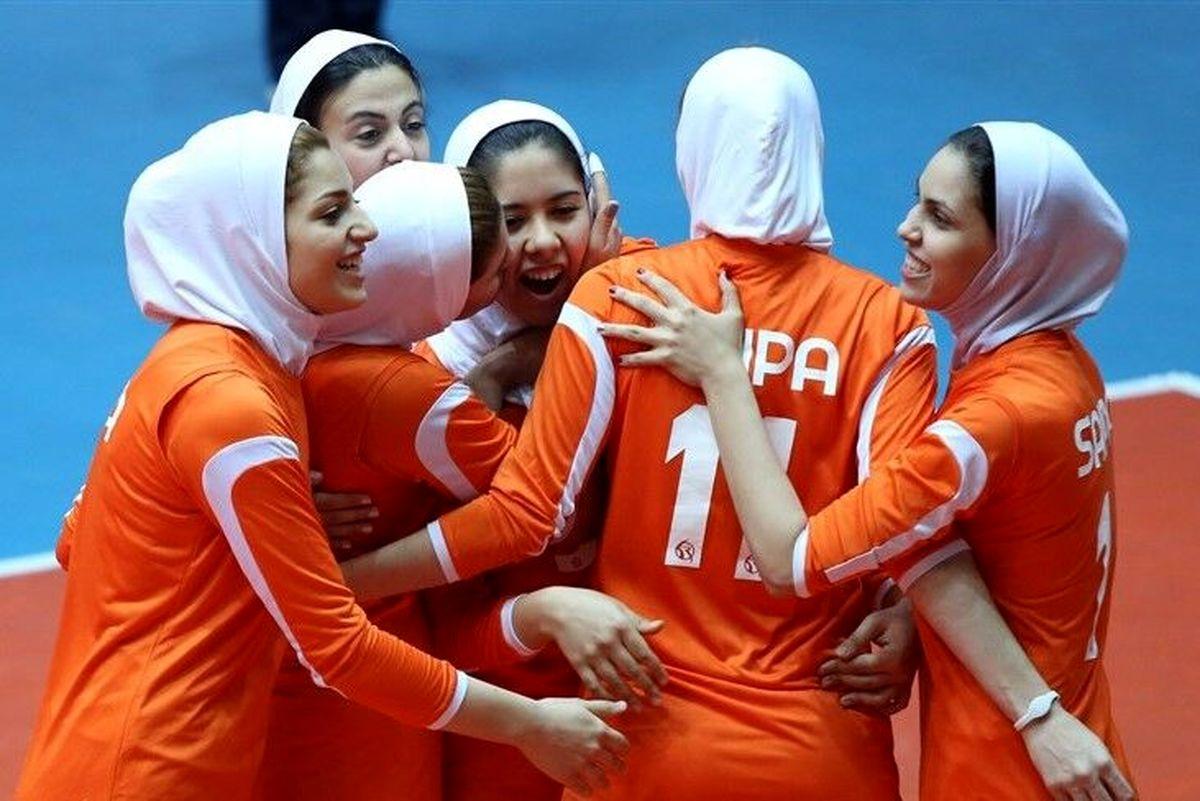 رقابت بانوان والیبالیست سایپا برای کسب سکوی جام باشگاههای آسیا