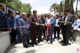 افتتاح پروژه های عمرانی منطقه سه گامی بلند در راستای خدمت رسانی است