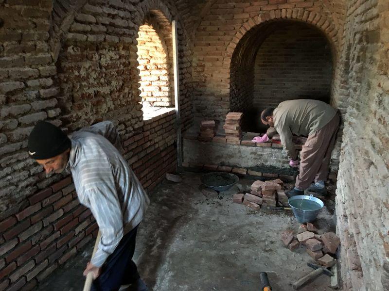 حمام تاریخی مریان به پایگاه پژوهشی و حفاظتی میراث فرهنگی تبدیل می شود