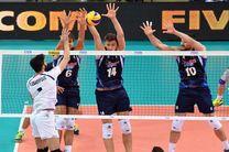 لیگ جهانی والیبال - ایتالیا/ ایران مغلوب نایبقهرمان المپیک شد