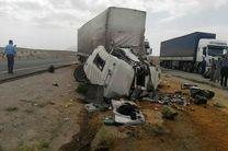 تخطی از سرعت مطمئنه راننده تریلی 3 نفر را به کام مرگ فرستاد