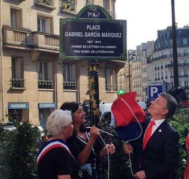 میدانی به نام «مارکز» در قلب پاریس