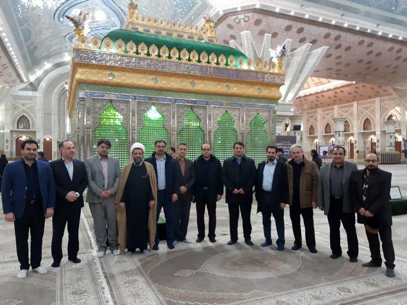 تجدید میثاق مدیرعامل، مدیران و کارکنان شرکت نفت ایرانول با آرمانهای امام خمینی(ره)