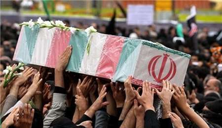 تشییع پیکر 15 شهید تازه تفحص شده در مازندران