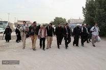 پیاده روی کاروان رسانه گیلان از نجف به سمت کربلا معلی آغاز شد