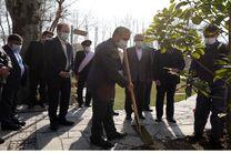 برگزاری روز ملی درختکاری در بانک مسکن