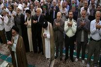 اقامه نماز عید سعید فطر در حرم حضرت معصومه(س) به امامت آیت الله سعیدی
