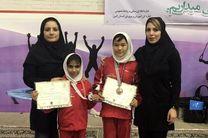 ورزشکاران دختران گلستانی در مسابقات ژیمناستیک دانش آموزان کشور درخشیدند
