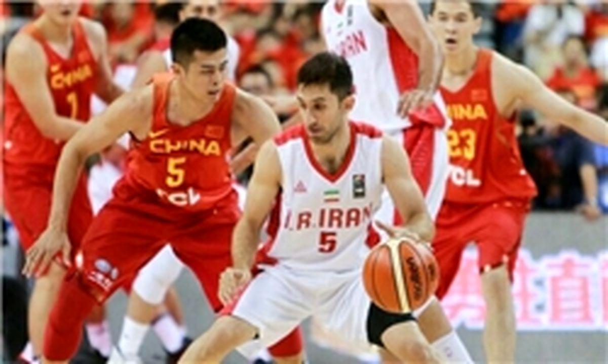 تیم ملی بسکتبال نتیجه را به چین واگذار کرد