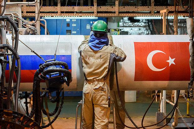 روسیه قرارداد احداث خط لوله گاز بین روسیه و ترکیه امضا شد