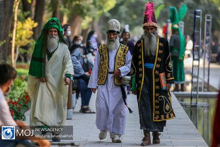 تعزیه خوانی دهه دوم ماه محرم در چهار باغ عباسی اصفهان