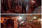 مغازهدارانی که سد معبر در پیادهروهای دهدشت را حق خود میدانند