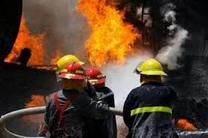 آتش نشانان اصفهانی ساکنان گرفتار در مجتمع مسکونی را نجات دادند