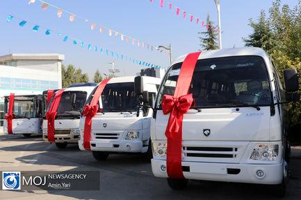 بهره برداری از ۱۰۰ دستگاه اتوبوس و مینی بوس در حمل و نقل عمومی پایتخت