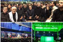 وداع با محسن حججی در حسینیه حضرت زهرا تا پایان شب ادامه دارد