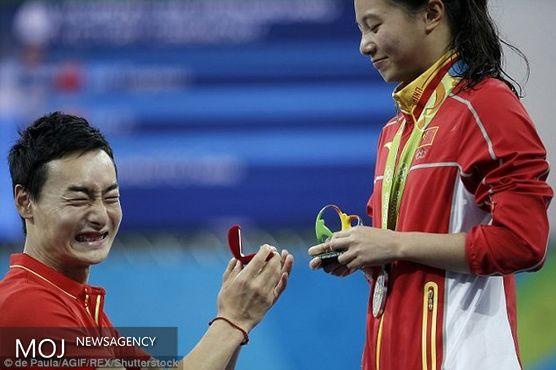 تب تند خواستگاری در المپیک ریو
