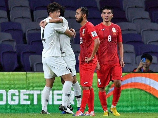 نتیجه بازی کره جنوبی و قرقیزستان/ صعود ببرهای آسیا قطعی شد