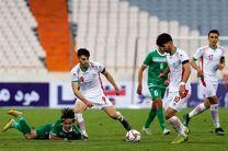 ساعت بازی تیم ملی فوتبال امید ایران و ازبکستان مشخص شد