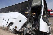 واژگونی اتوبوس در جاده پارسیان- بندرعباس دو مجروح بر جای گذاشت