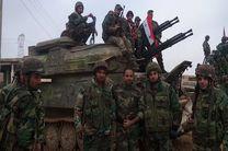 پیشروی های گسترده ارتش سوریه در حومه جنوبی الباب ضد داعش