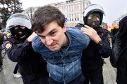 بازداشت بیش از 800 معترض در اعتراضات روسیه
