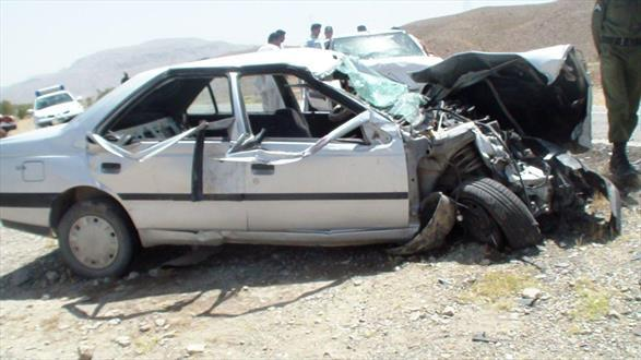 تصادف مرگبار در محور فیروزآباد