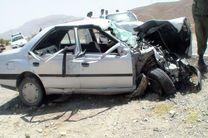 یک کشته و ۱۳مصدوم در تصادف دو خودروی پژو در سمیرم