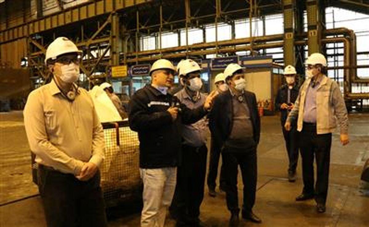 شرکت فولاد مبارکه مجموعۀ با ارزشی برای اقتصاد کشور است