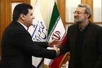 سفیر سوریه در تهران با رئیس مجلس شورای اسلامی دیدار کرد